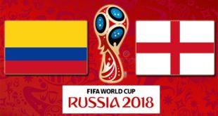 Колумбия – Англия 3 июля 2018: прогноз на матч 1/8 финала ЧМ по футболу