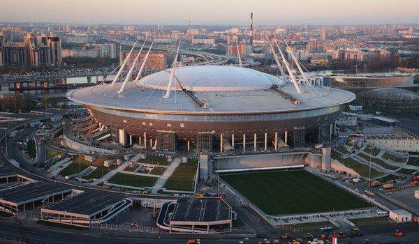 Новый стадион в Санкт-Петербурге