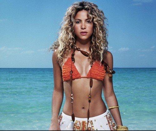 Жена Пике Шакира