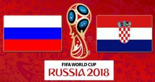Россия – Хорватия 7 июля 2018: прогноз на матч 1/4 финала ЧМ по футболу