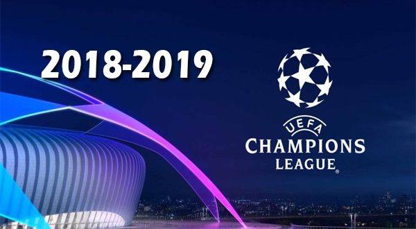 Лига Чемпионов 2018-2019: жеребьёвка группового этапа