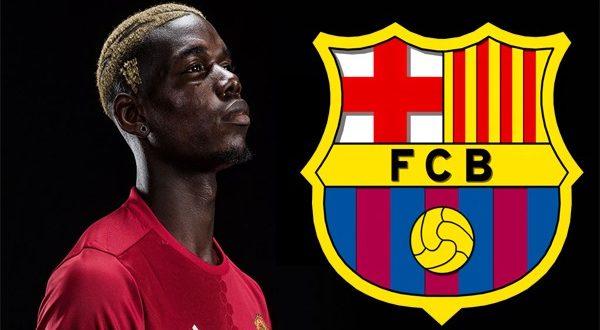 Барселона тайно провела переговоры с Полем Погба