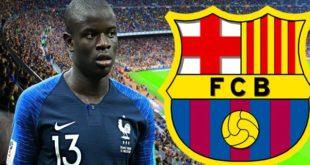 Барселона готова купить Н'Голо Канте в январе