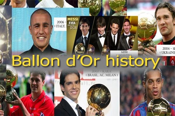 Все обладатели золотого мяча по годам: история награды