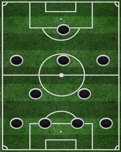 тактика 4-2-3-1