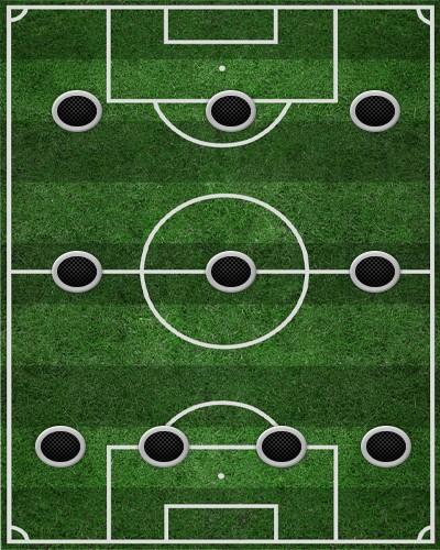 тактика 4-3-3