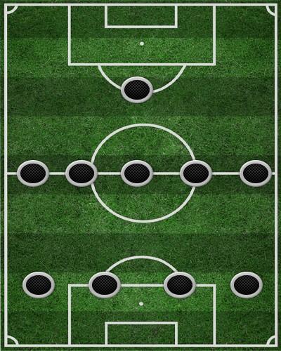тактика 4-5-1