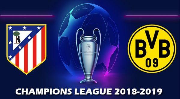 Атлетико – Боруссия Дортмунд 6 ноября: прогноз на матч 4- го тура ЛЧ 18/19