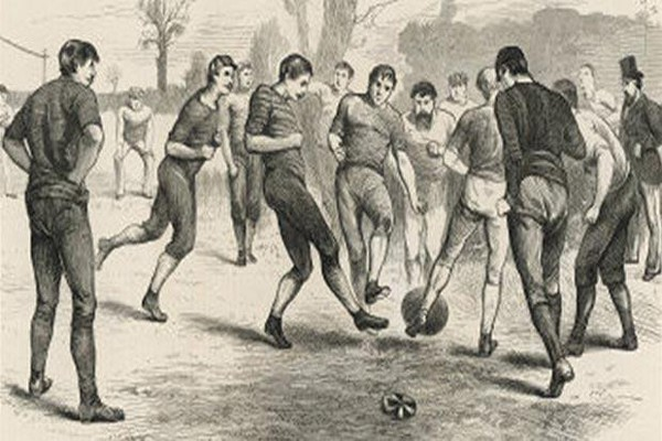 Футбол в ранние века
