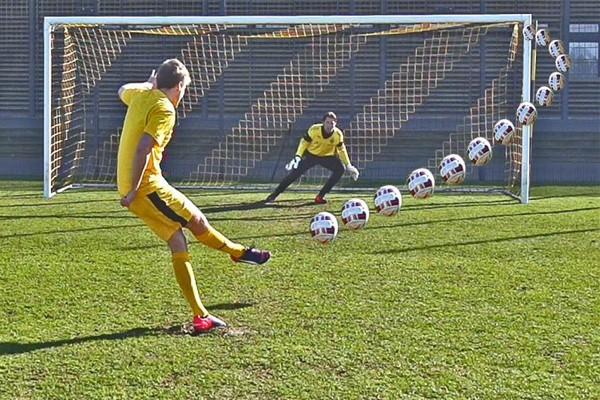 Процедура пробития пенальти в футболе