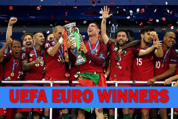 Все победители чемпионата Европы по футболу за всю историю