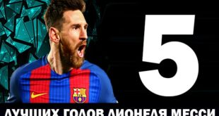 Самые лучшие голы Месси за карьеру: видео топ-5 голов