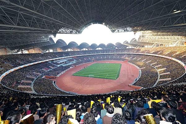 Стадион Первого Мая в Северной Корее