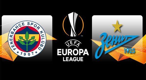 Фенербахче – Зенит 12 февраля 2019: прогноз на матч 1/16 Лиги Европы