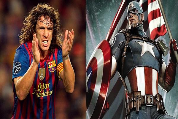 Пуйоль и капитан Америка