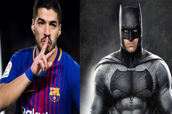 Луис Суарес и Бэтмен