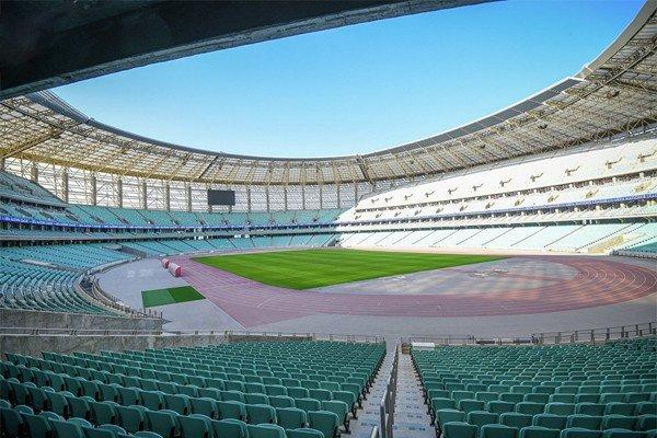 Бакинский стадион Баку