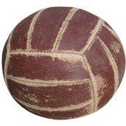 Первые волейбольные мячи