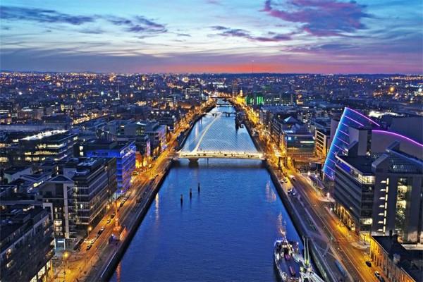 фото города Дублин