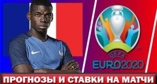 Прогнозы и ставки на чемпионат Европы по футболу 2020