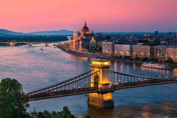 город Будапешт на фото