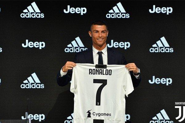 Презентация Роналду в Ювентусе