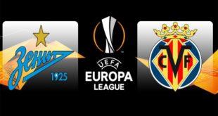 Зенит – Вильярреал 7 марта: прогноз на 1/8 Лиги Европы 2018-2019