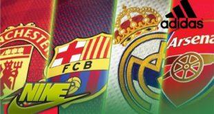 ТОП-10 футбольных клубов с самыми большими доходами от спонсоров