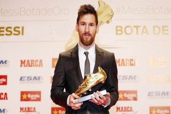Лео Месси с золотой бутсой