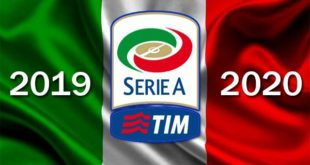 Чемпионат Италии по футболу 2019-2020: таблица, результаты матчей