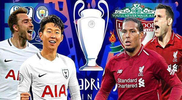 Тоттенхэм - Ливерпуль 1 июня: прогноз и составы на финал Лиги Чемпионов 2019