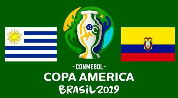 Прогноз на матч Уругвай - Эквадор 17 июня (1-й тур Копа Америка 2019)