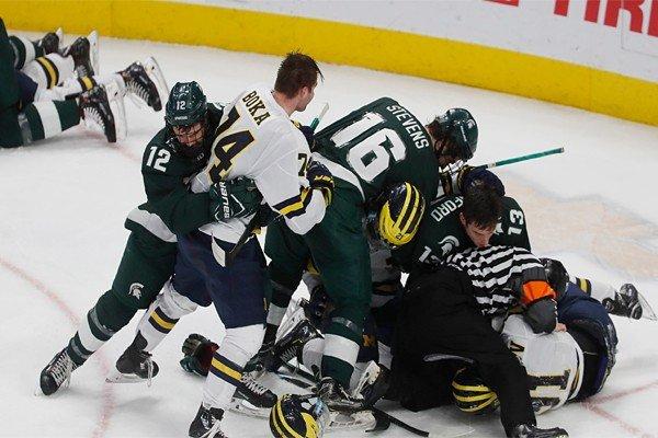 Нарушения и штрафы в хоккее