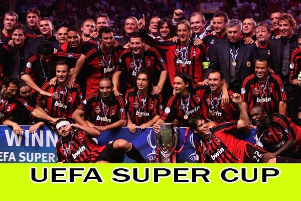 Победители Суперкубка УЕФА по годам