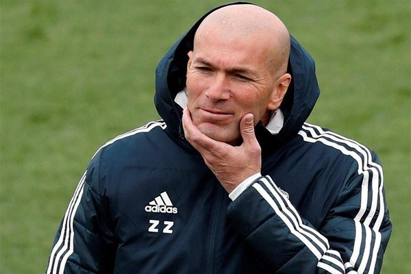 тренер Реала Зизу