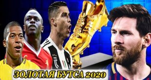 Золотая бутса 2020: таблица голеодоров (гонка за награду)