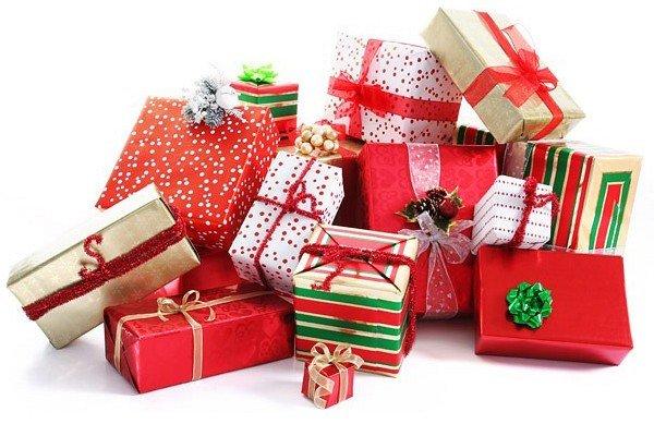 подарки в боксах