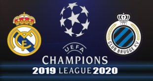 Реал - Брюгге 1 октября: прогноз на матч Лиги Чемпионов 2019/20