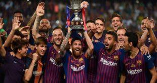 Суперкубок Испании по футболу 2019: дата, расписание, результаты