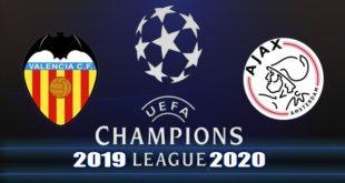 Прогноз на матч Валенсия - Аякс 2 октября 2019