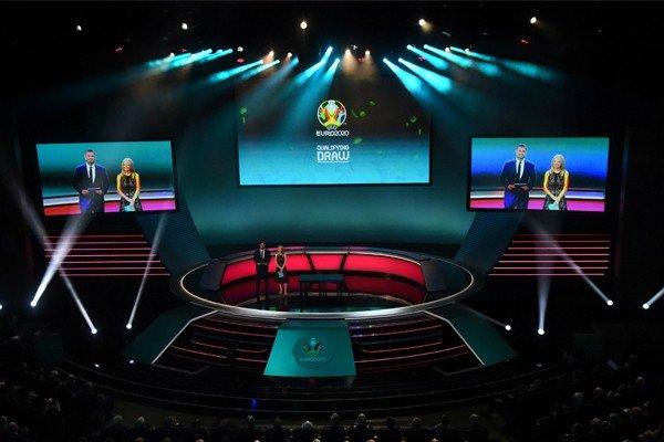 Жеребьёвка финальной части ЕВРО-2020