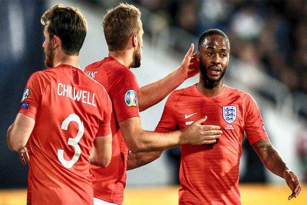 игроки сборной Англии по футболу на ЕВРО