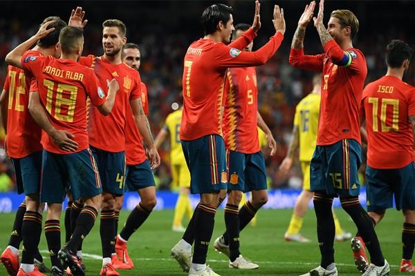игроки сборной Испании по футболу 2020