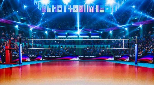 Размер волейбольной площадки по стандарту: схема поля, линии