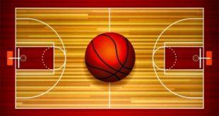 Размеры баскетбольной площадки в метрах (стандарт ФИБА и НБА)