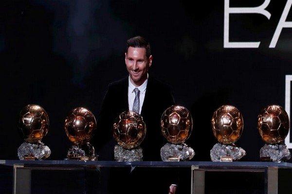 Месси и 6 золотых мячей