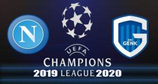 Наполи - Генк 10.12.2019: прогноз на матч Лиги Чемпионов