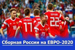 Шансы сборной России на Евро-2020: прогнозы на выход из группы и плей-офф стадию