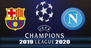 Барселона - Наполи 8 августа: прогноз и составы на ответный матч 1/8 ЛЧ