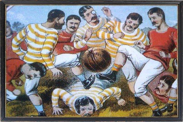 Первый футбол